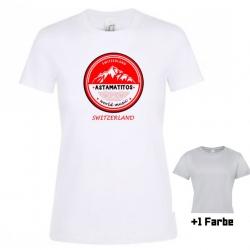 """Astamatitos T-Shirt """"SWITZERLAND"""" Women"""