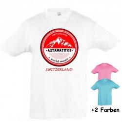 """Astamatitos T-Shirt """"SWITZERLAND"""" KIDS"""