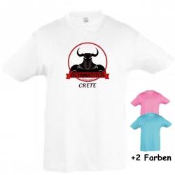 "Astamatitos T-Shirt ""CRETE MINTAVROS"" KIDS"