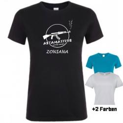 "Astamatitos T-Shirt ""CRETE ZONIANA"" Women"
