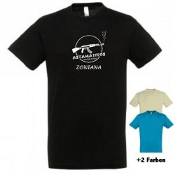 "Astamatitos T-Shirt ""CRETE ZONIANA"" MEN"