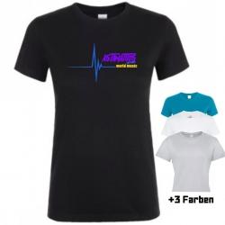 """Astamatitos T-Shirt """"MUSIC WAVE"""" Women"""