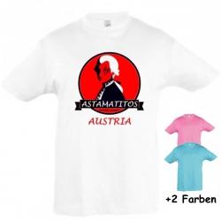 """Astamatitos T-Shirt """"AUSTRIA"""" KIDS"""