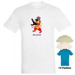 """Astamatitos T-Shirt """"BELGIUM"""" MEN"""