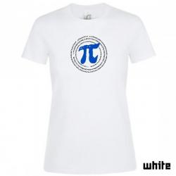 """Astamatitos T-Shirt  """"Π"""" PI 3,14 Women"""
