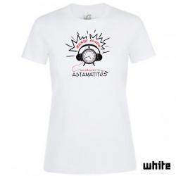"Astamatitos T-Shirt  ""MUSIC ALARM"" Women"