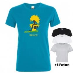 """Astamatitos T-Shirt """"BRAZIL"""" Women"""