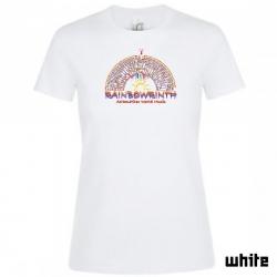 "Astamatitos T-Shirt  ""RAINBOWRINTH"" Women"