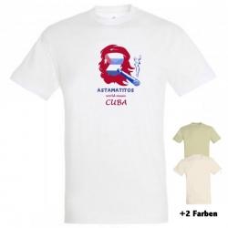 """Astamatitos T-Shirt """"CUBA"""" MEN"""