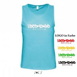 """Locomondo Tank Top """"ODYSSEIA"""" Men, Atoll Blue"""